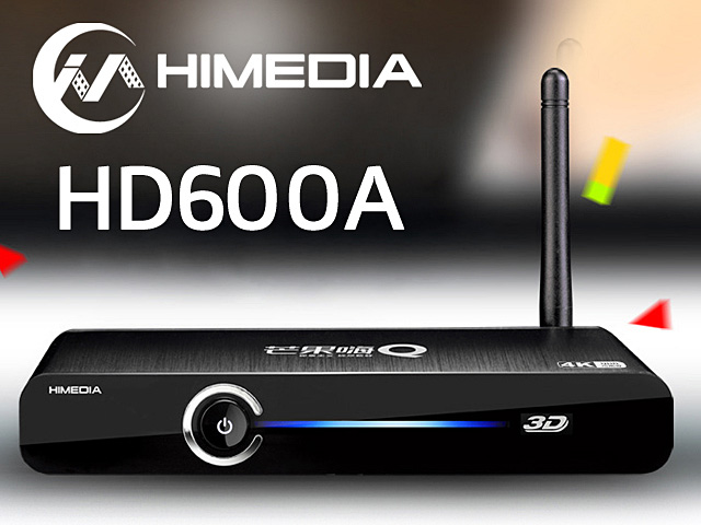 Hi-Media HD600A Quad Core HD Network Media Player
