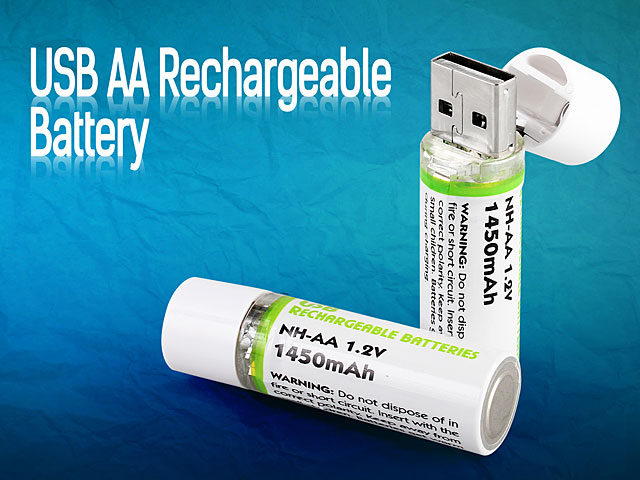 USB AA Rechargeable Battery