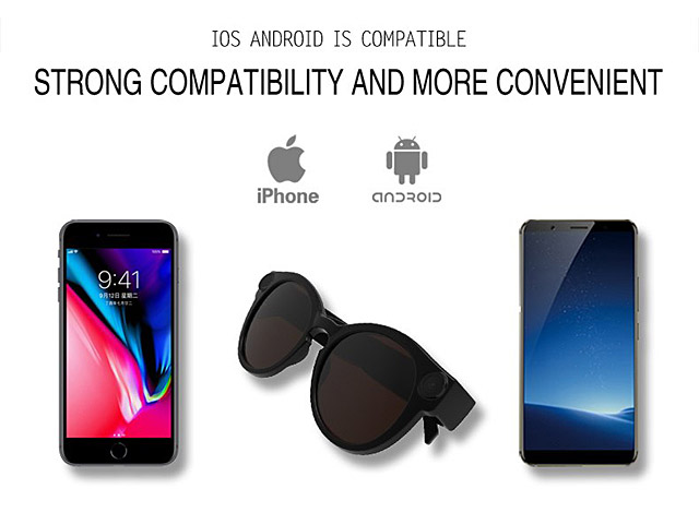 40ecb6f6fe8c4 K11 Smart Spy Sports Wi-Fi Glasses
