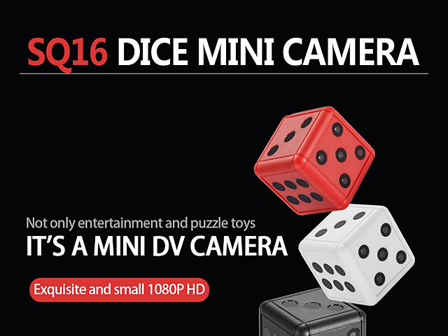 SQ16 HD 1080P Dice Mini DV Camera