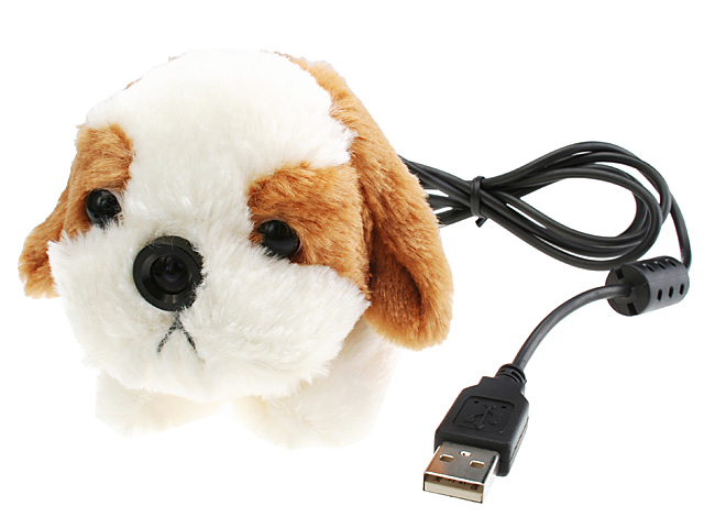 Doggie Donny---USB Web Cam + Wrist Cushion