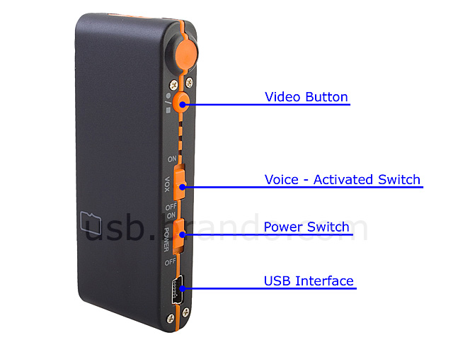 USB Mini High-Definition Digital Video Recorder