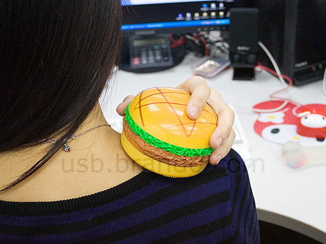 USB Burger Hand Warmer and Massager