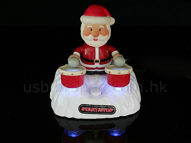 Usb Drumming Santa Claus