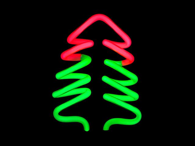 USB Christmas Tree Neon Light