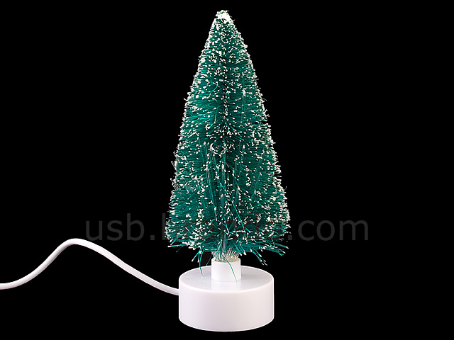 USB Mini Fiber Optic Christmas Tree II