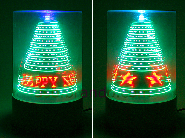 USB 3D LED Christmas Tree